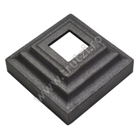 ELEMENT MASCARE TURNAT 100X100MM, H 44.9MM, GAURA 31.5X31.55MM, GR. 3.0MM 44831