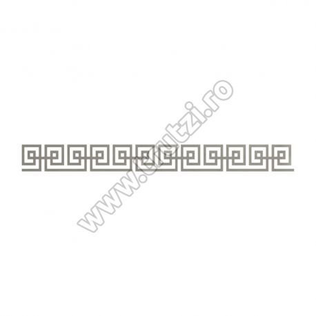 ELEMENT DECORATIV DIN TABLA DECUPATA, H 100MM, L 1000MM, GR. 3.0 MM 54234